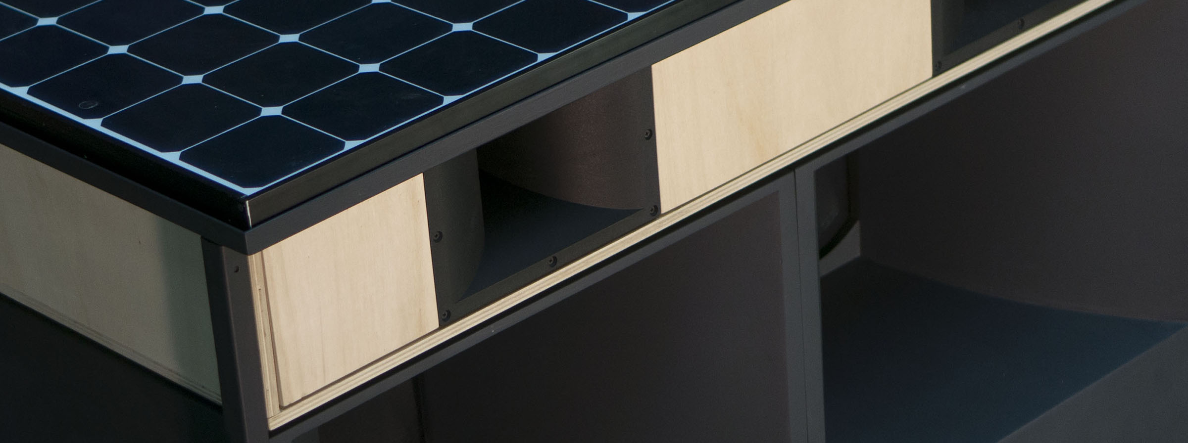 Pikip Solar Speakers - Enceinte photovoltaique - Sonorisation autonome en énergie